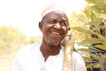 ChaibouAra,thechiefofGuidanAra, says acacia trees have been an important gift to his village.