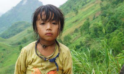 Malnourished children in a poor Vietnamese village are receiving help from Samaritan's Purse